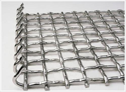 不锈钢轧花编织网